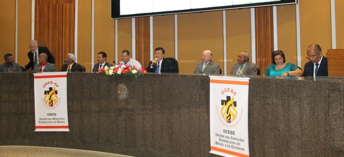 Sessão solene reconheceu o trabalho dos capelães