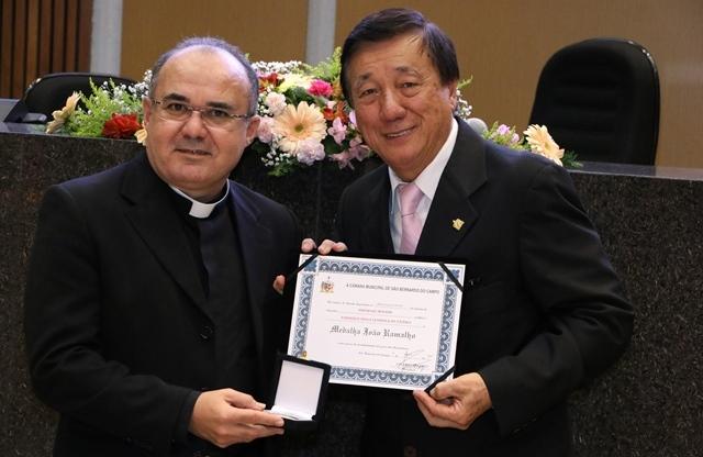 Sessão solene na Câmara comemorou o cinquentenário da Paróquia Nossa Senhora de Fátima